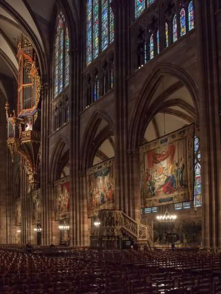 The Cathedral's tapestries